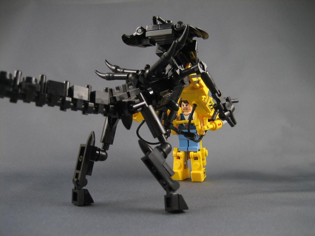 Ripley vs the Alien Queen