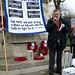 Steve Bullock, Lewisham's Mayor, speaks at the rally to save the hospital, February 15, 2013