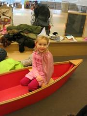Princess in a Canoe