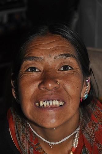sourire de l'himalaya