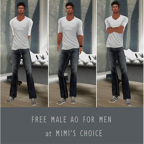 FREE AO FOR MEN @ MIMI'S by mimi.juneau *Mimi's Choice*