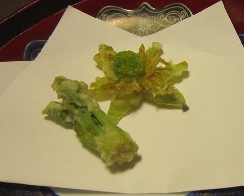 タラの芽と蕗の薹の天ぷら 2013年㋁19日 by Poran111