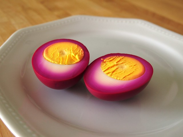 beet pickled eggs