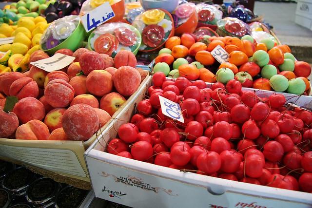"Famous specialty ""fruits soap"" in Edirne, Turkey エディルネ名物のフルーツ石けん"