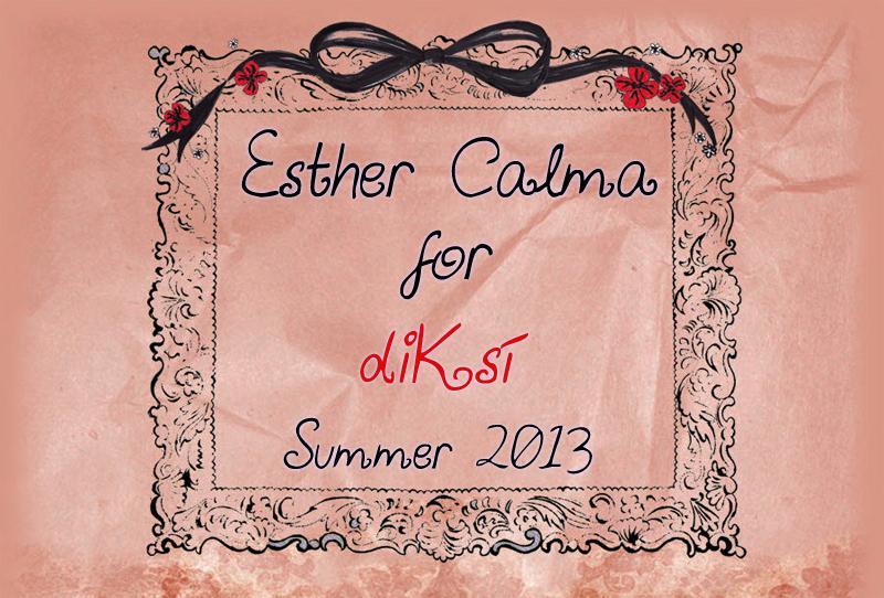 Esther Calma para diKsi verano 2013