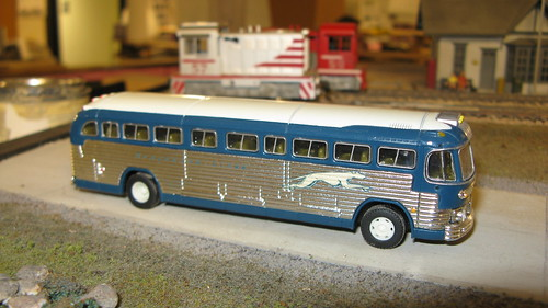 A Classic American Greyhound bus from the past. by Eddie from Chicago