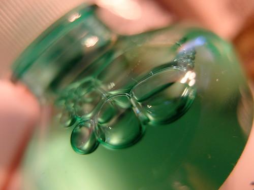 detergent bubble