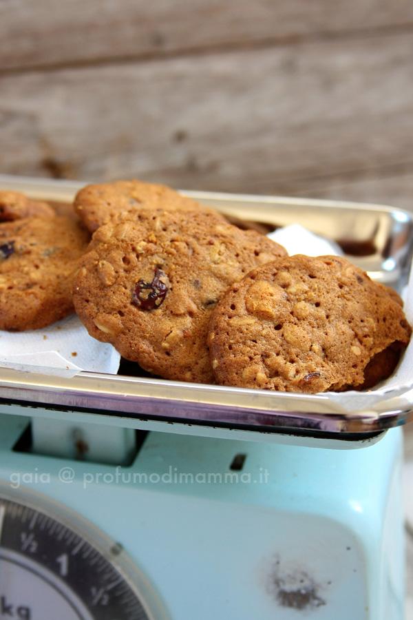 Biscotti avena albicocche