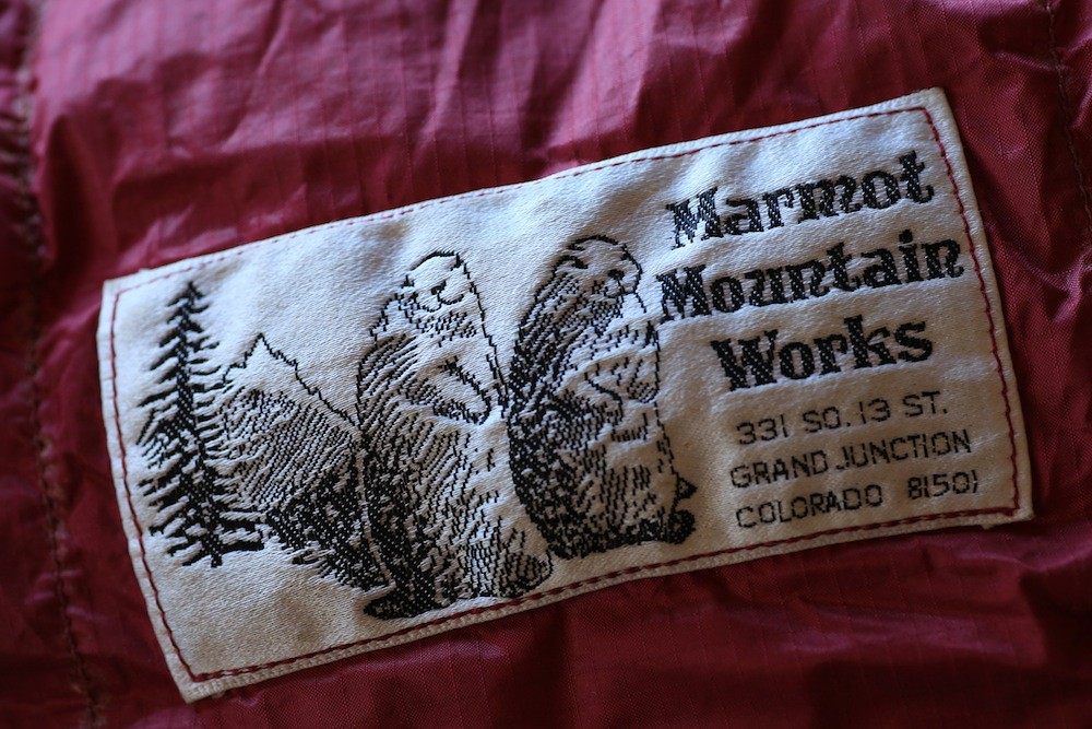 Original Marmot label