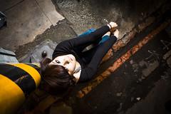 [フリー画像素材] 人物, 女性 - アジア, 台湾人, 人物 - 見上げる ID:201303011800