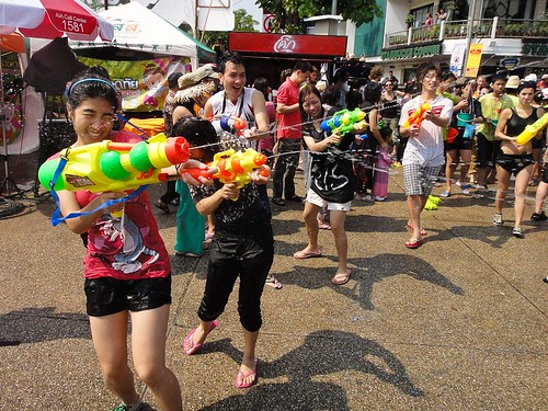 Celebrating Songkran in Thailand
