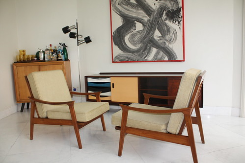 Mid-Century Interiors by Like That One