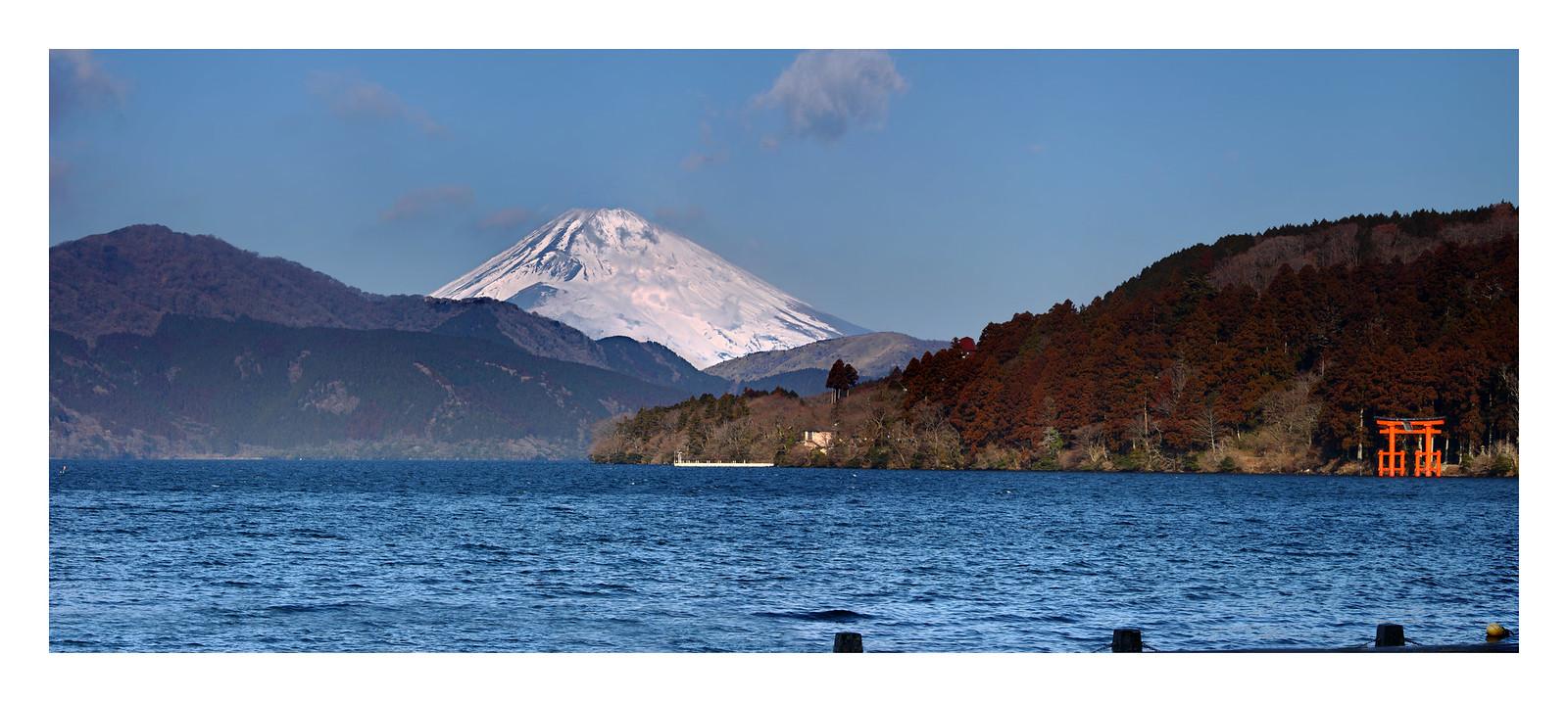 Lake Ashi Fuji-san