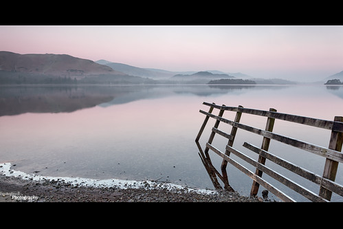 Leaning Fence by Dave Brightwell