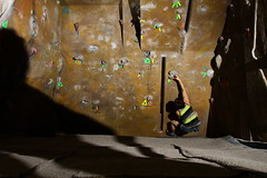 ORC Indoor Rock Climbing Trip with Keuka College