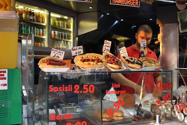 Сосиски в Турции