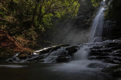 japan waterfall nikon ngc tokina 日本 滝 島根県 allxpressus d7000 邑智郡 赤馬滝