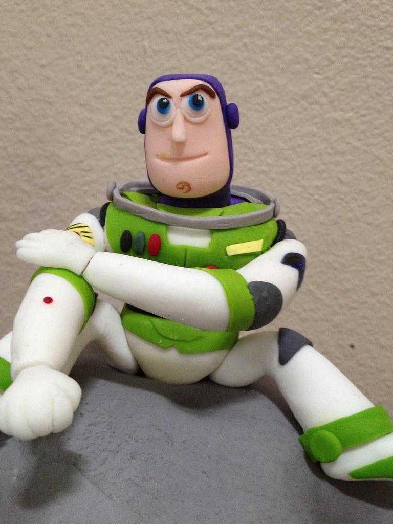Buzz Lightyear Cake Topper Tutorial