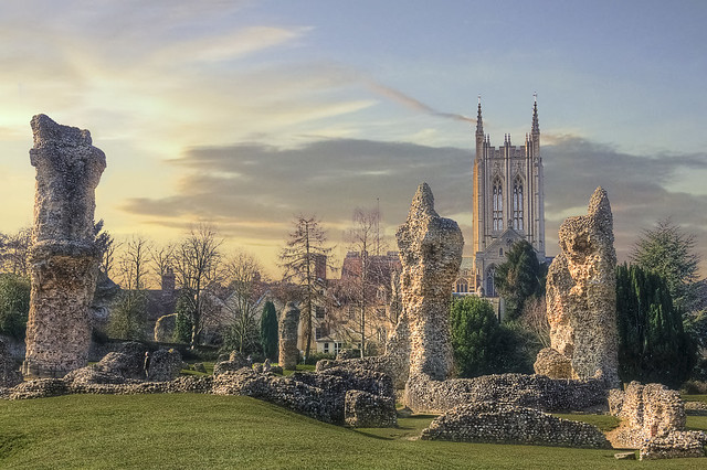 Abbey Ruins at Bury St. Edmunds