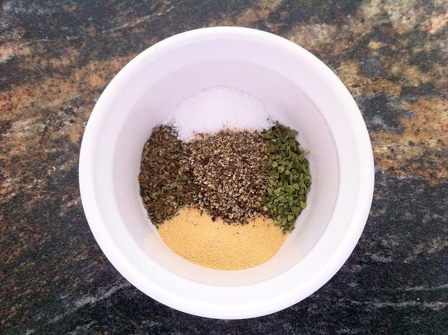 Spice Mix for Breading Chicken