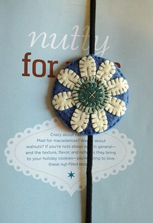 Wool Felt Bookmark