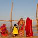 Sari women