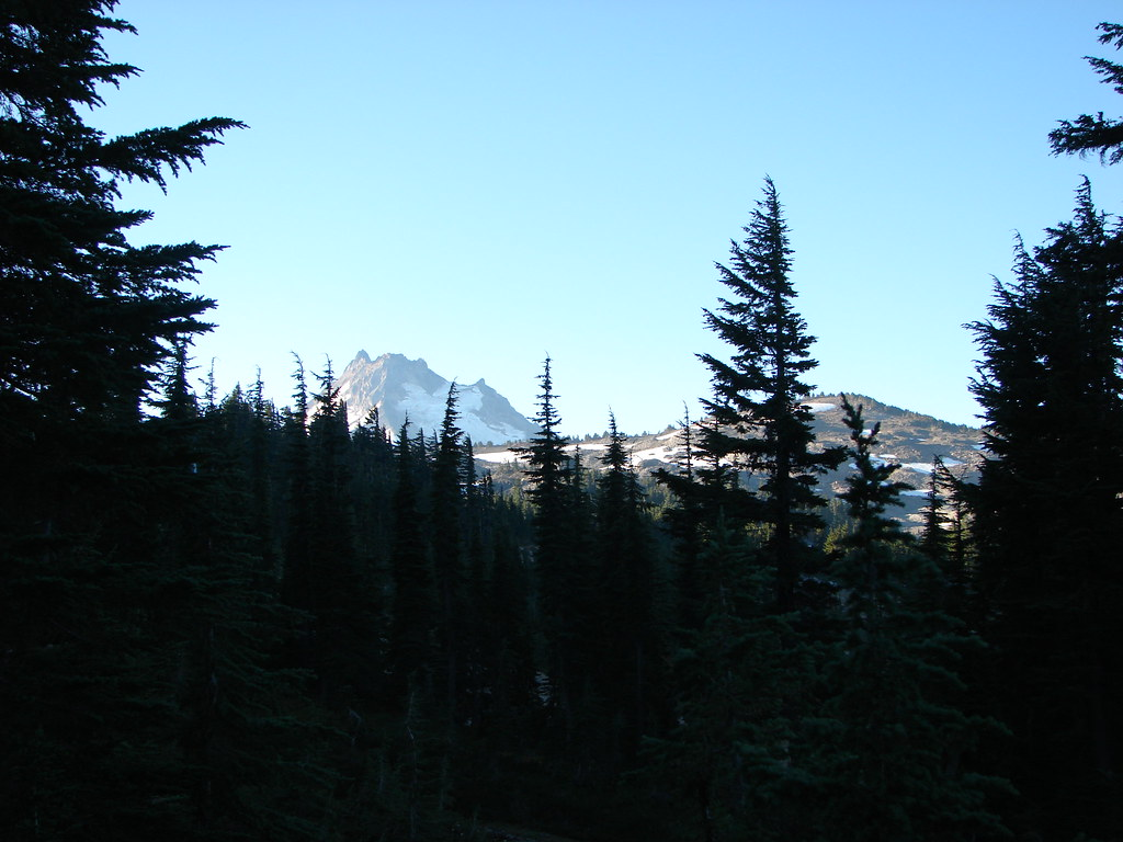 Mt. Jefferson behind Park Ridge