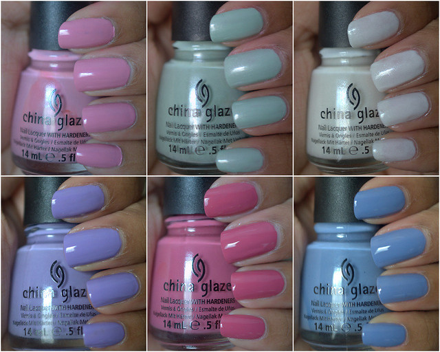 China Glaze Avant Garden Collection for Spring 2013 - part I