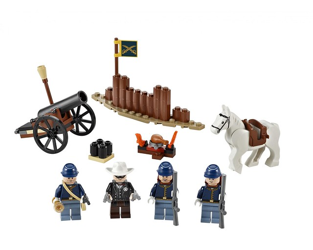 LEGO The Lone Ranger 79106 - Cavalry Builder Set