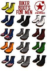 Biker boots for men - 1