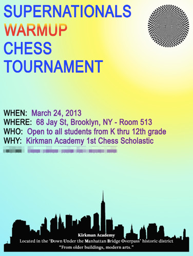 Dumbo's Kirkman Chess Club Hosting Tournament