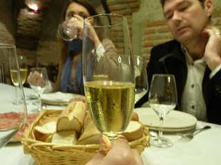 Foto en Bodegas Yllera (Valladolid)