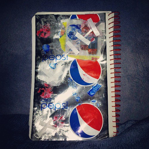 Drink of Choice prompt #artjournal #dietpepsi by quilter4010