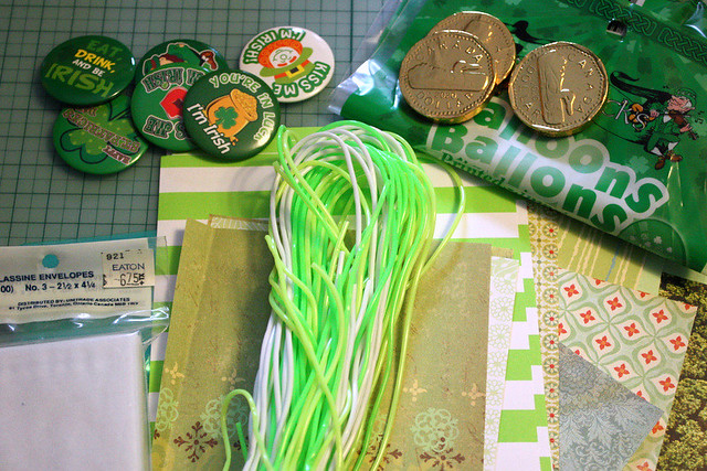 St. Patrick's day Snailmail
