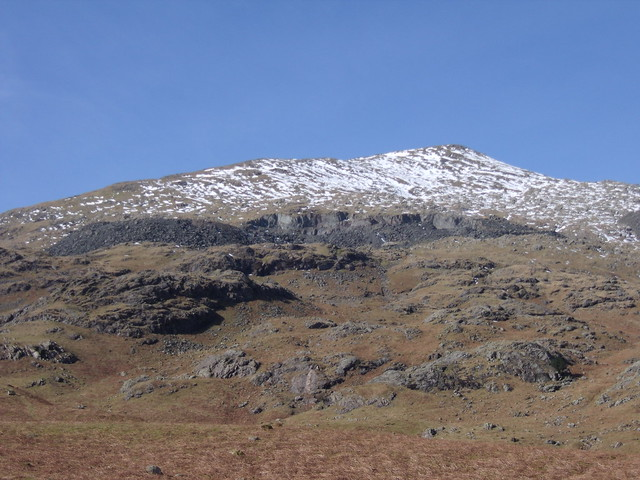 Quarry on Old Man of Coniston