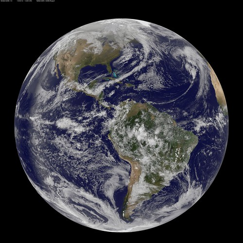 "Full Disk View Showing Earth on 4.13 - ""Pi Day"" by NASA Goddard Photo and Video"