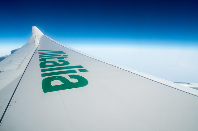アリタリア-イタリア航空 機内より