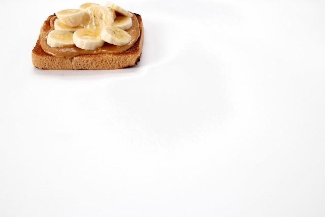 on toast: white bread