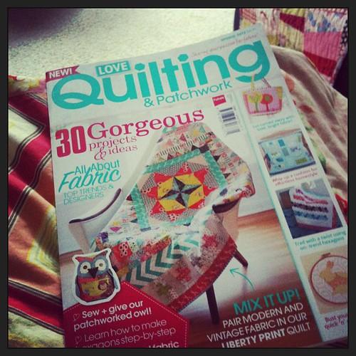Got my magazine!! #marcellemedallion #medallionalong