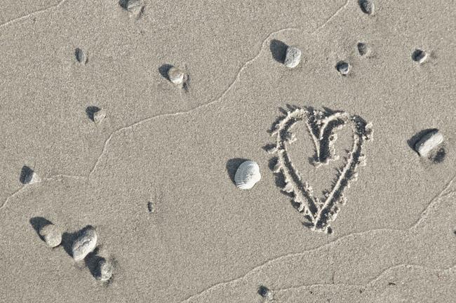 älskar stranden