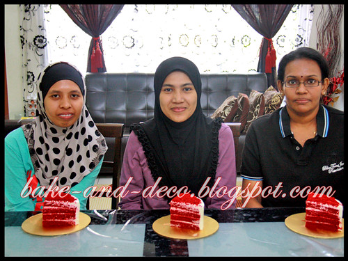 Baking & Deco Class: Red Velvet Cake ~ 7 August 2012