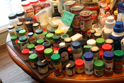 Spices-OUT-of-cabinet-on-table