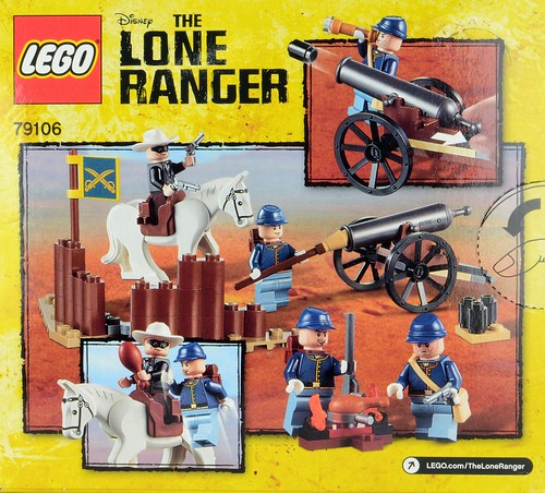 79106 Lone Ranger Cavalry Builder Set