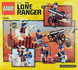 Lone Ranger Cavalry Builder Set by Brickset on Flickr