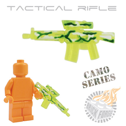 Tactical Assault Rifle - Trans Neon Green (camouflage)