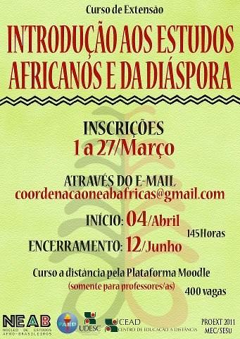 Introdução aos Estudos Africanos e da Diáspora by Biblioteca Abdias Nascimento