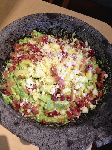 Cilantro Mexican Grill Bacon Pineapple Guacamole 2, Photo Courtesy of Cilantro Mexican Grill