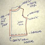 draft jacket lining pattern