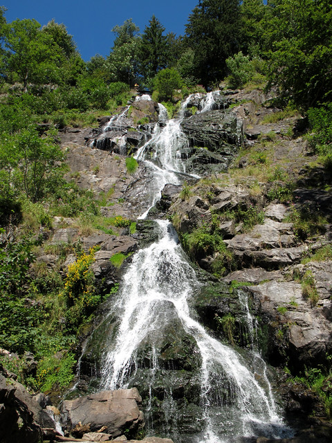 Waterfall of Todtnau
