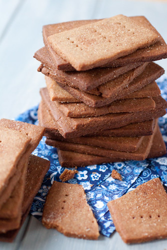 DIY cinnamon graham crackers
